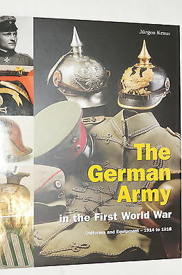 WW1 Imperial German Army Uniform Equipment Reference Book