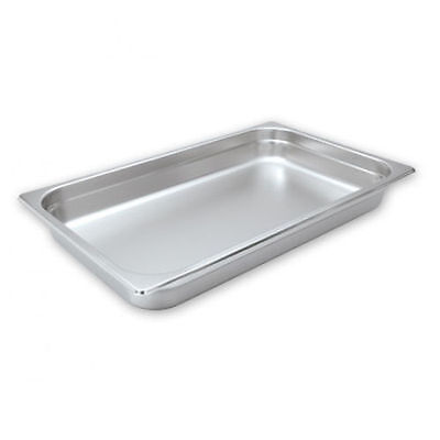 1 x Bain Marie Trays / Steam Pans / Gastronorm Pans, 1/1 150mm, Stainless Steel