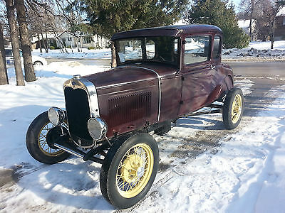 Ford : Model A COUPE 1930 ford model a coupe in excellent original condition original all steel body