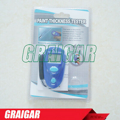 New Digital LCD Mini Car Painting Thickness Meter Coating Thickness Gauge EM2271
