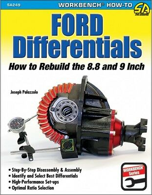 """SA Designs SA249 Book - Ford Differentials: How To Rebuild The 8.8"""" & 9"""" 144pgs"""