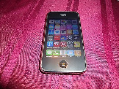 Apple iphone 3g 8gb black jailbroken untethered & unlocked bundle last one