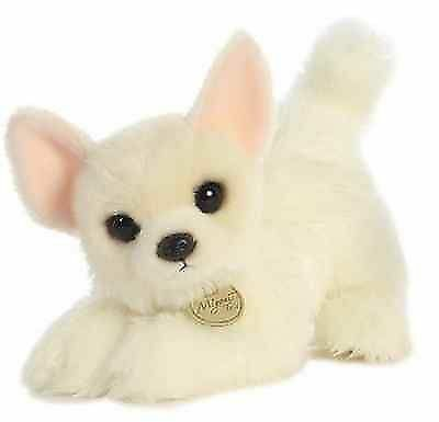 10 Inch Miyoni Long Coat Chihuahua Dog Plush Stuffed Animal By
