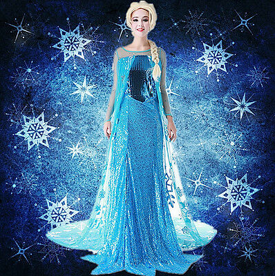 Frozen - Vestiti Carnevale Elsa Donna - Dress up Elsa Costumes Woman 8899030