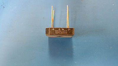 (10 PCS) GBPC3506W VISHAY Diode Rectifier Bridge Single 600V 35A 4-Pin Case