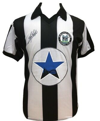 Kevin Keegan Signed Toon Newcastle United Football Shirt With Proof & Coa