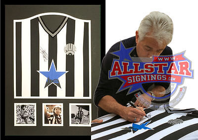 Framed Kevin Keegan Signed Newcastle United Shirt See Proof
