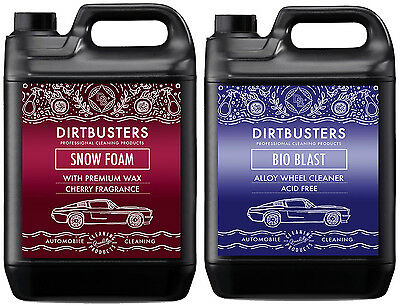 Car Candy Snow Foam shampoo and acid free alloy wheel cleaner 2 x 5 litres