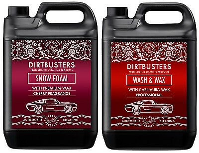 Car Candy Snow Foam cherry shampoo cleaner and wash and wax 2 x 5 litres