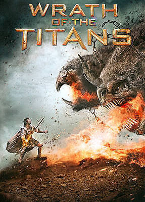 WRATH OF THE TITANS-----DVD-----COMPLETE