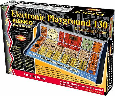 Kids, Teens, 130 Electronic Circuits Learning Center Teach Training Lab Gift Toy