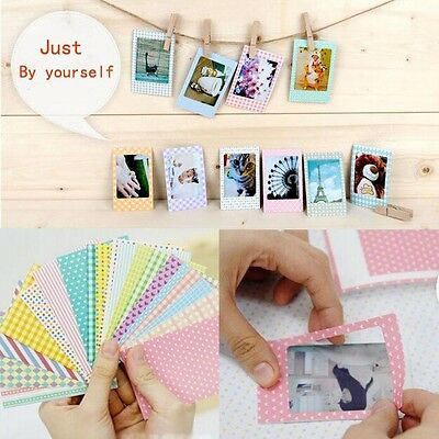 20x Polaroid Films Photo Sticker For FujiFilm Instax Mini Instant 8 7S 25 50S YX