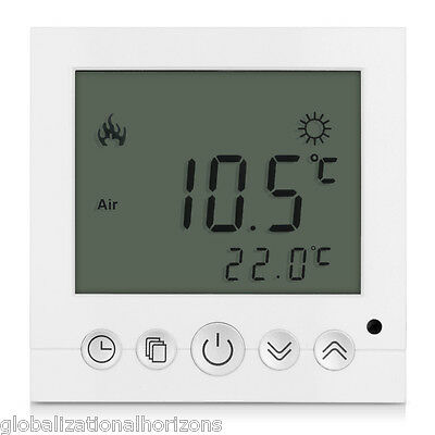 LCD Display Programmable Underfloor Thermostat Heating Temperature Controller