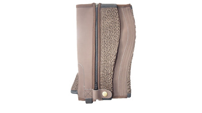 Borraq Budget Brown Synthetic Half Chaps