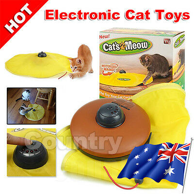 OZ A Electronic Cat Toys Interactive Fabric Undercover Moving Mouse Fun