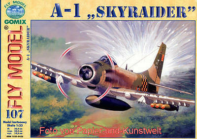 "FLY Model 107 - Douglas A-1J ""Skyraider"" - 1:33"