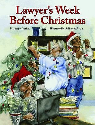 Lawyer's Week Before Christmas (The Night Before Christmas Series)