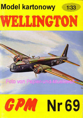 "GPM  69 a - Vickers ""Wellington"" Mk. III - 1:33"