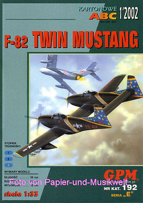 "GPM 192 - North American F-82 ""Twin Mustang"" - 1:33"