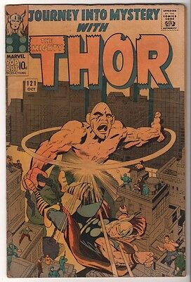 Marvel Comics G- THOR #121 Journey into mystery  ABSORBING MAN