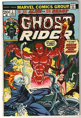 MARVEL GHOST RIDER Bronze age #2  1972 VG/FN 5.0