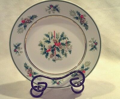 "NORITAKE HOLLY 8 1/4"" CHINA LUNCH SALAD PLATE 2228 JAPAN"