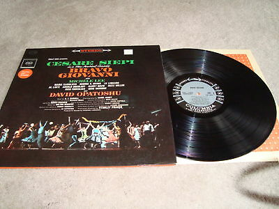 Bravo Giovanni Original Cast LP Michelle Lee