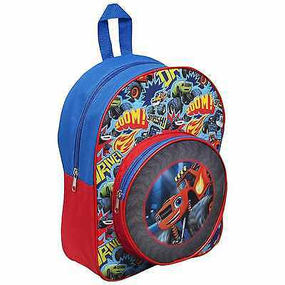 Official Blaze And The Monster Machine Boys School Backpack Rucksack Bag