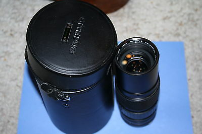 Olympus Zuiko MC Auto-Zoom 85-250mm F5 OM System & Case