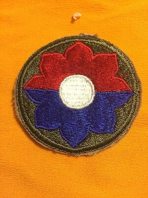 9th Infantry Division Patch WW2