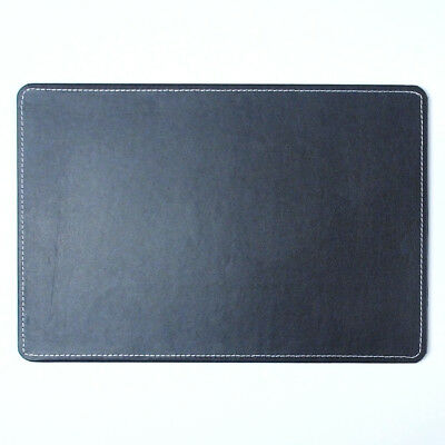 "10day Shipping, Small Artificial Leather Desk Mat 15x10"" Pad antique classic"