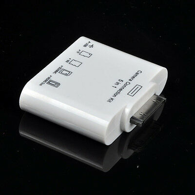 5in1 Camera Connection USB SD TF M2 MS Card Reader GS for Apple iPad 3 2