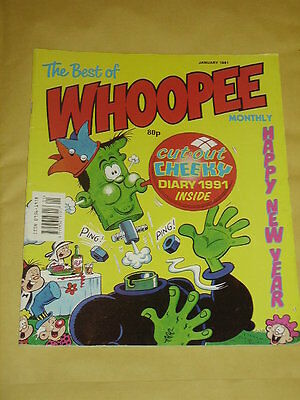 Best of WHOOPEE Monthly (January 1991) Very Good Condition
