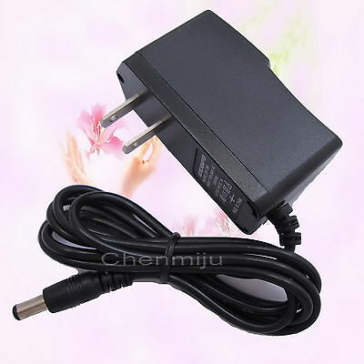 AC Converter Adapter DC 12V 300mA Power Supply Charger US 5.5mm x 2.1mm 0.3A New