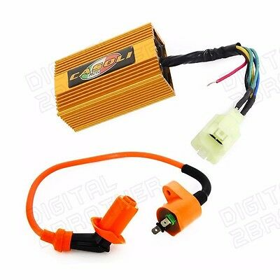 High Performance Ignition Coil & DC CDI Box Fit for Chinese GY6 150cc Scooters