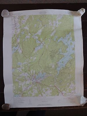 1954 - ANTIQUE Map / Stanhope Quadrangle, New Jersey - Topographic
