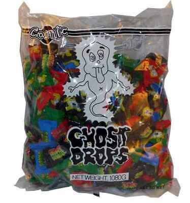 Ghost Drops 240 x Halloween Candy Buffet Party Favors Sweets Bulk Lollies Cosmic