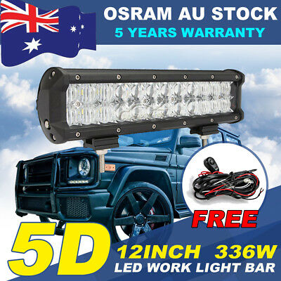 12inch 168W PHILIPS LED Work Light Bar Combo Offroad 4x4WD SUV Lamp UTE ATV 14""