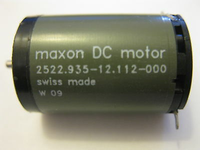 Swiss MAXON 12vDC Motor 2522.935-12.112-000  for Tattoo Machine and more