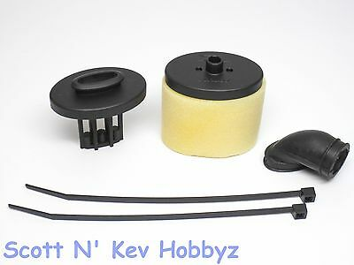 2014 XRAY XB8 AIR FILTER (Cap body, elbow, cleaner (350009 Team Buggy)