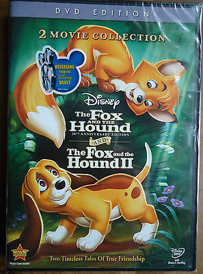 Fox and the Hound/Fox and the Hound ll (DVD, 2011, 2-Disc Set) New and Sealed