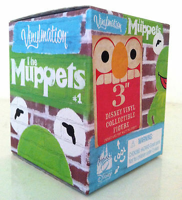 "DISNEY VINYLMATION 3"" MUPPETS SERIES 1 SEALED BLIND BOX CHASER? 2010 PARK FIGURE"