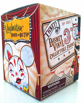 """DISNEY VINYLMATION 3"""" MICKEY MOUSE CIRCUS BIG TOP SEALED BOX BLIND CHASER? PARK"""