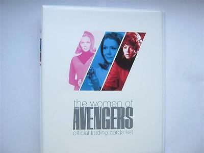THE WOMAN OF AVENGERS Binder With JACQUELINE PEARCE Autograph Card