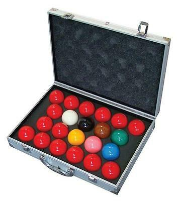 "New Aramith Tournament Champion SuperPro1G Snooker Ball set with case (2 1/16"")"