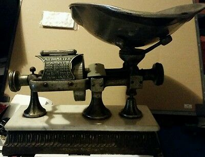 Antique Dodge Manufacturing The Micrometer COUNTRY STORE SCALE New York 1903
