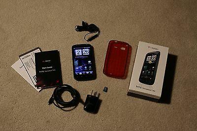 HTC Sensation 4G - 1GB - Black (T-Mobile) Smartphone bundle