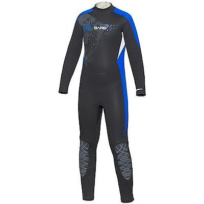 BARE Manta Full 5/4mm Diving wetsuit, semi-dry for Children and Young People
