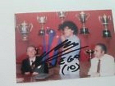 Photo de Diego Maradona signature autographe E3!!!!!!!!!!!!!!!!!!!!!!!!!!!!!!!!!