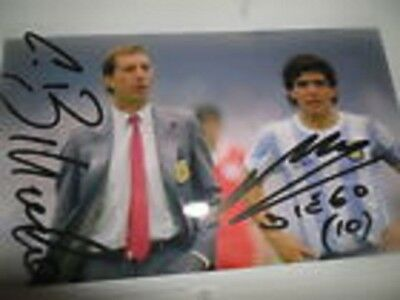 Photo de Diego Maradona signature autographe E4!!!!!!!!!!!!!!!!!!!!!!!!!!!!!!!!!